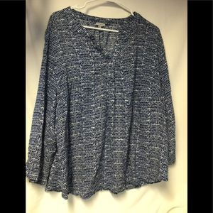 Macy's Tops - Women's 100% Rayon Plus Size Top